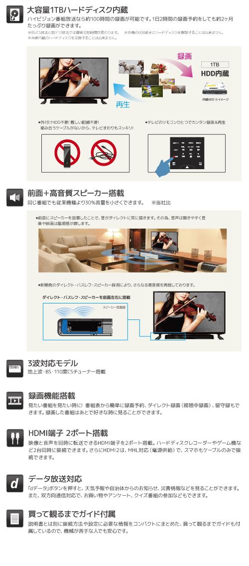 32TV 1TB Speaker
