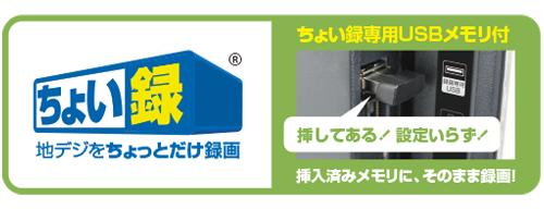 31番_19V型_ちょい録地上波デジタル液晶テレビ